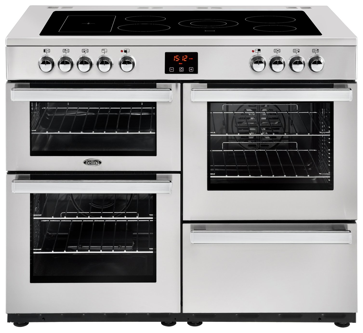 Belling Cookcentre 110E Pro Electric Range Cooker - S/ Steel