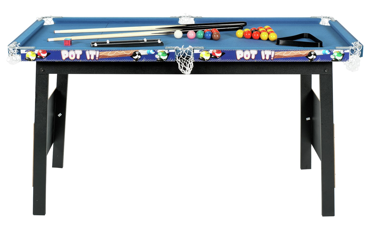 Chad valley 4ft snooker pool game table octer for Supreme 99 table game