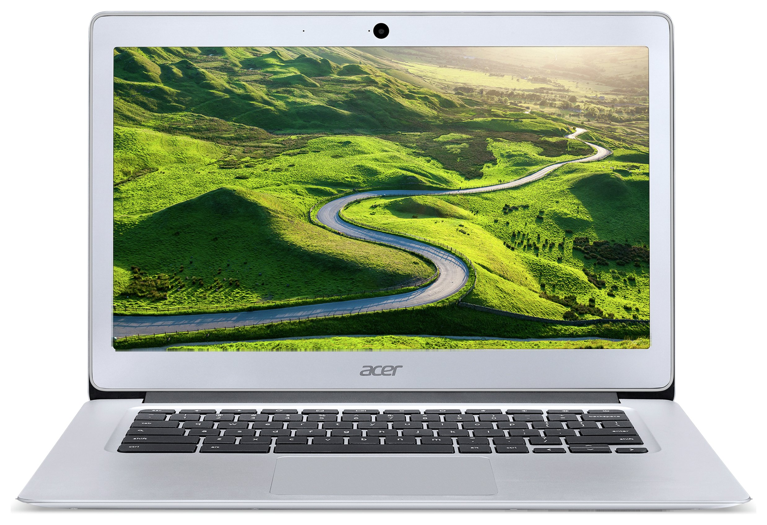 Image of Acer 14 Inch Celeron 2GB 32GB Chromebook - Silver