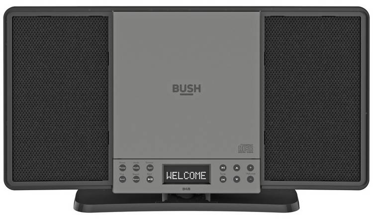 Bush Flat DAB/CD Bluetooth Micro System