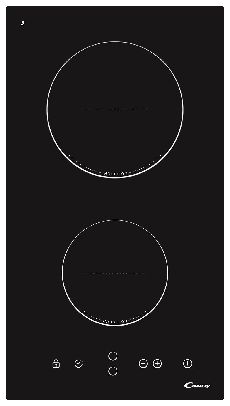 Image of Candy CDI30 Induction Hob - Black