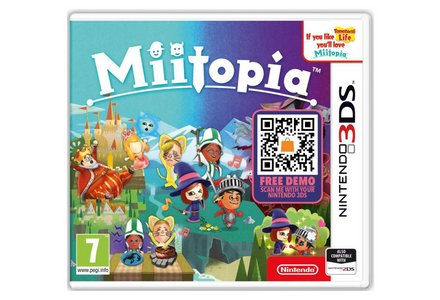 Miitopia Nintendo 3DS Game.