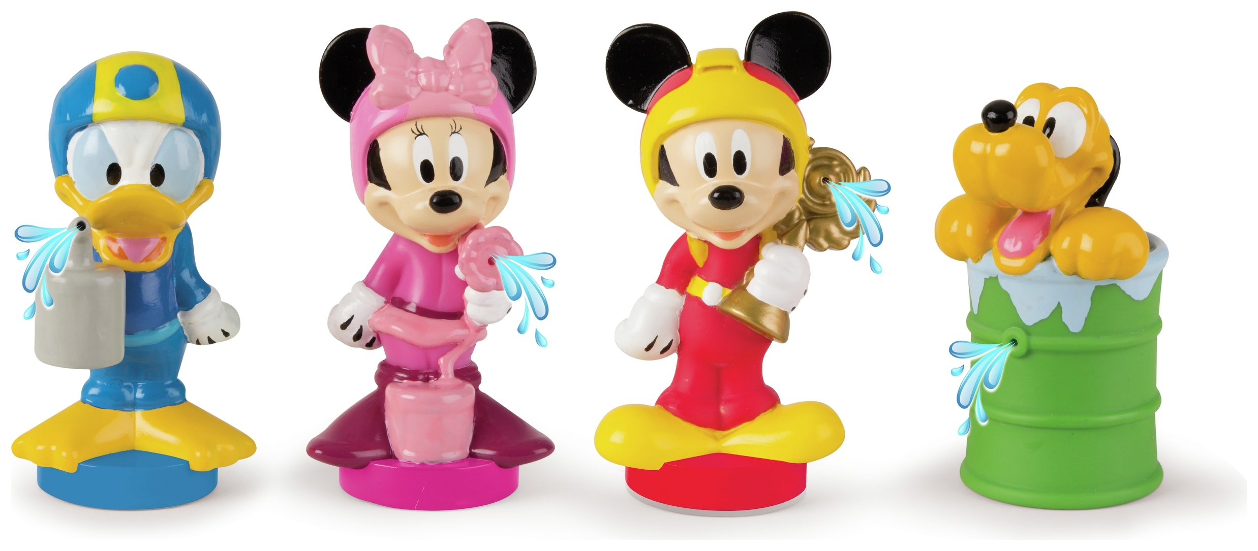 Mickey Roadster Racers Bath Figures