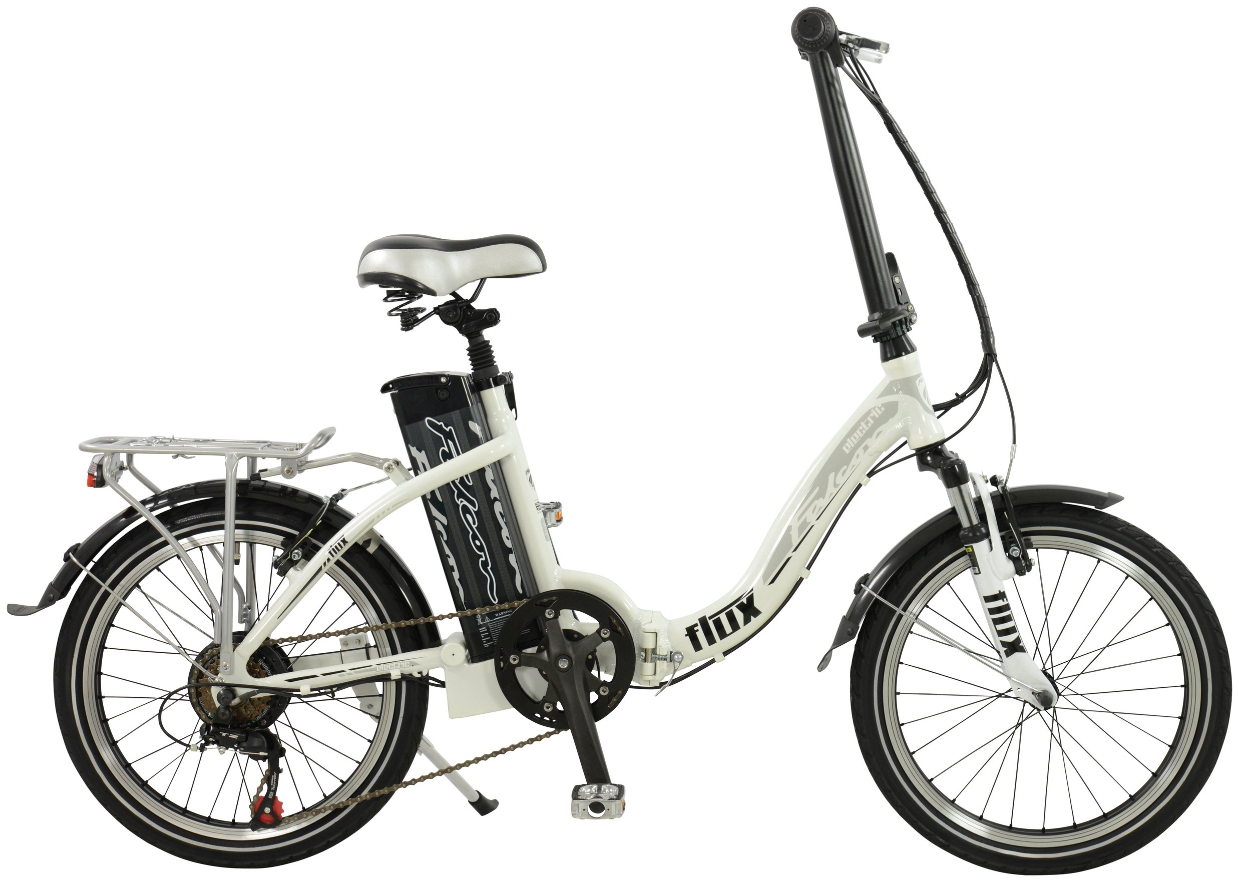 Image of Falcon Flux Alloy Folding Electric Bike