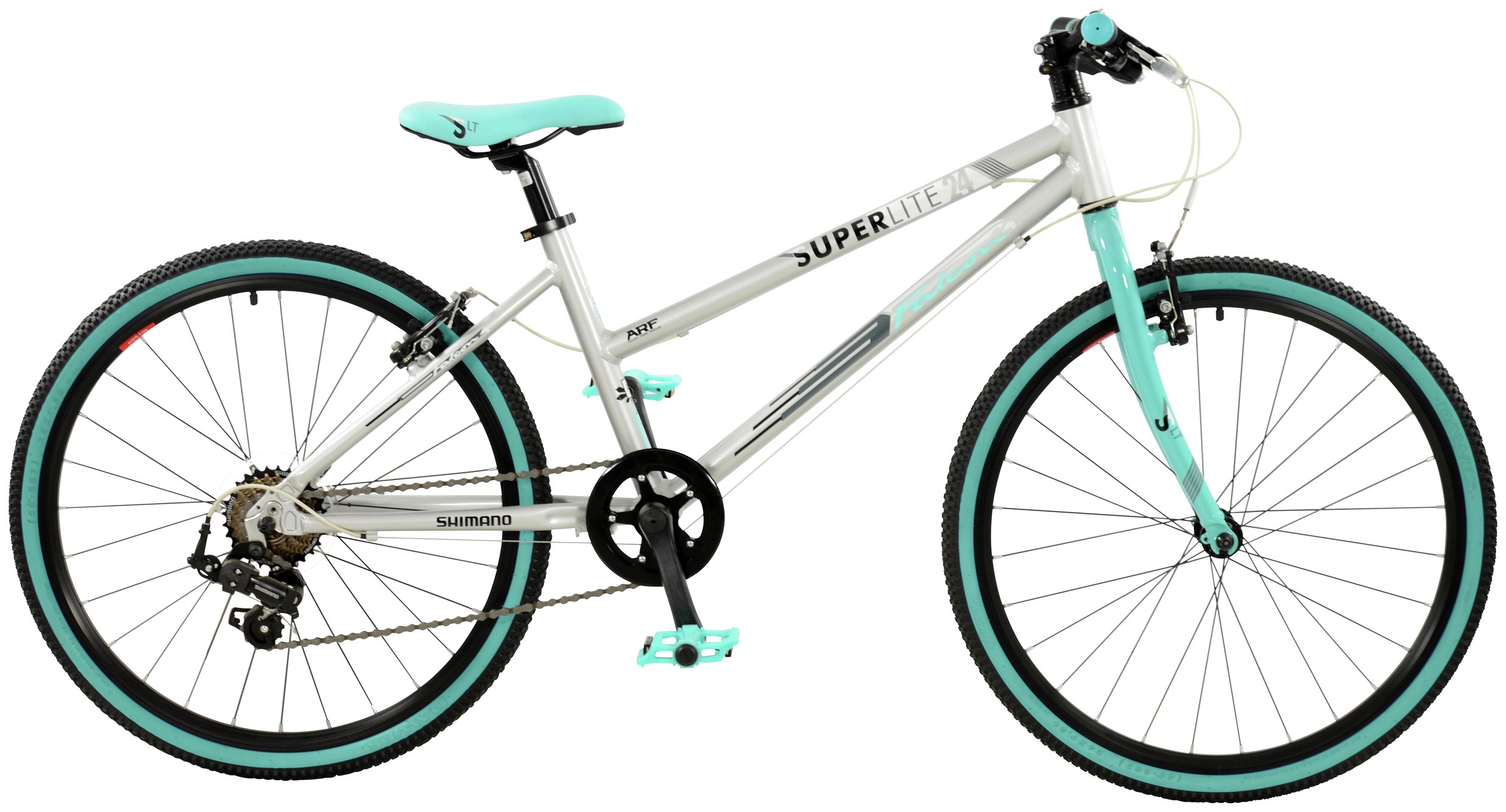 Image of Falcon 24 Inch Alloy Superlite Bike