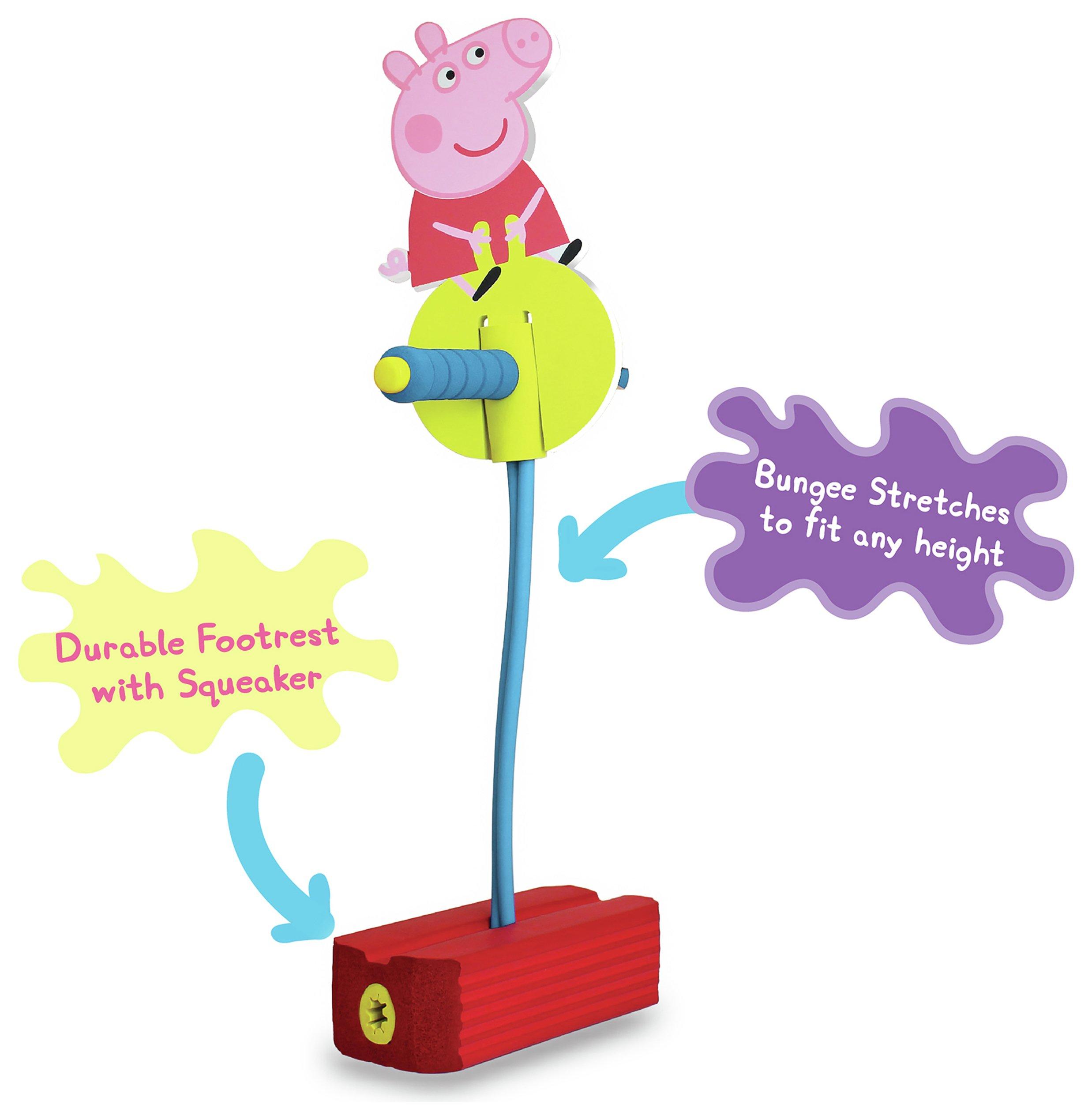 Peppa Pig Hop and Squeak Outdoor Pogo Stick.