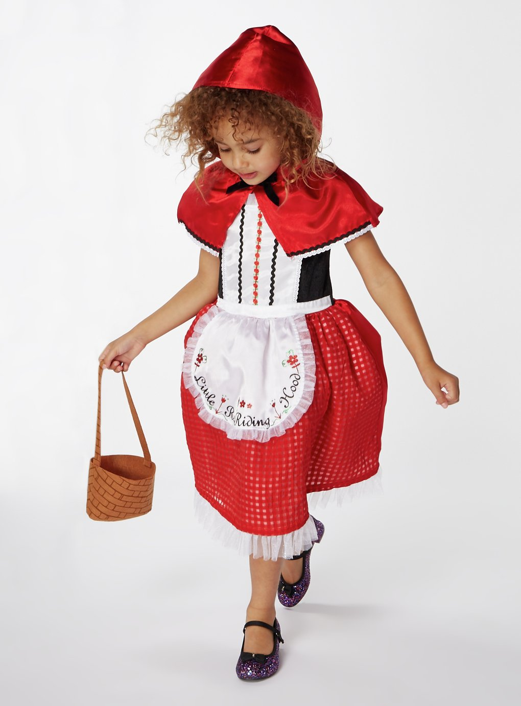 Image of Little Red Riding Hood Fancy Dress Costume - 5-6 Years
