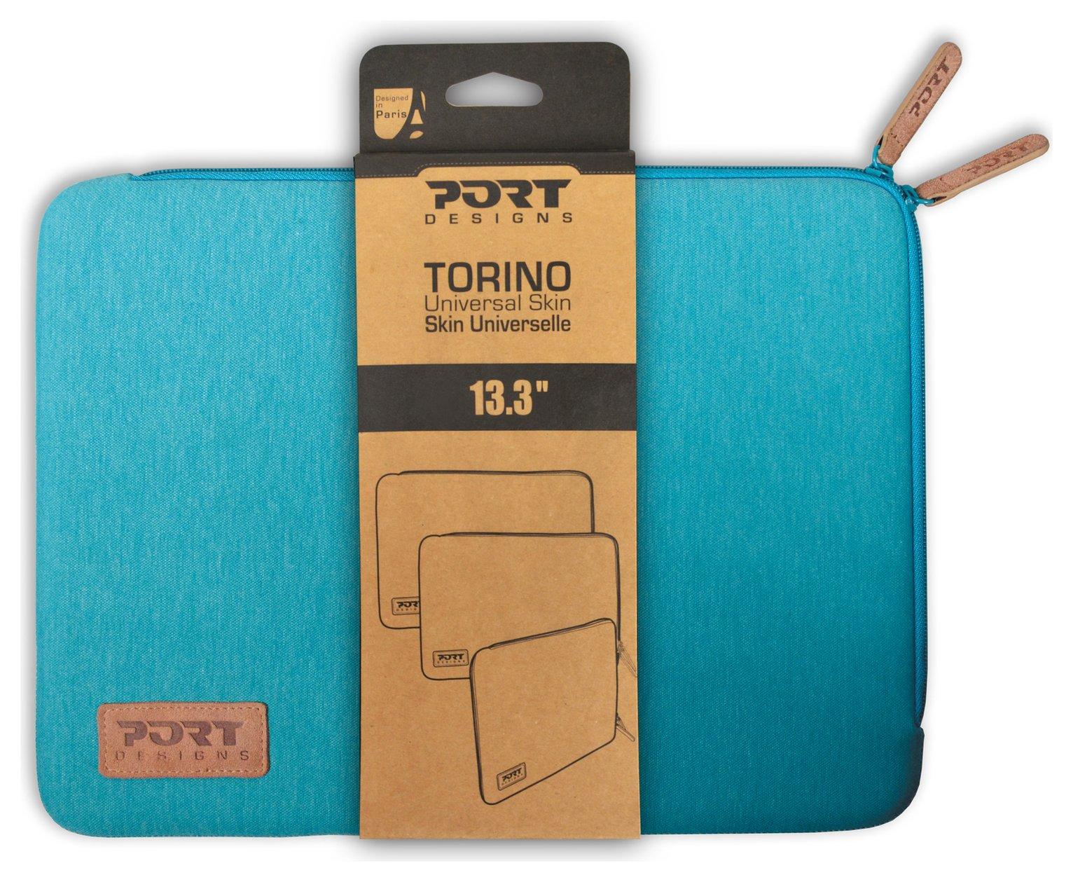 'Port Designs - Torino 13.3-14 Inch - Laptop Sleeve - Turqoise