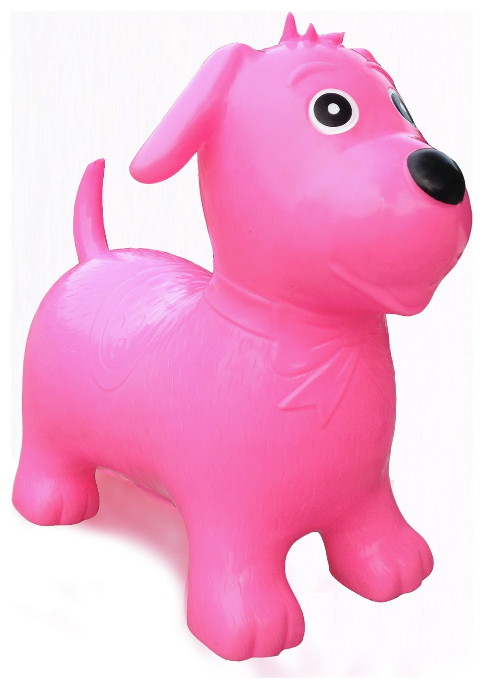 Image of HappyHopperz Inflatable Bouncer Dog - Pink.