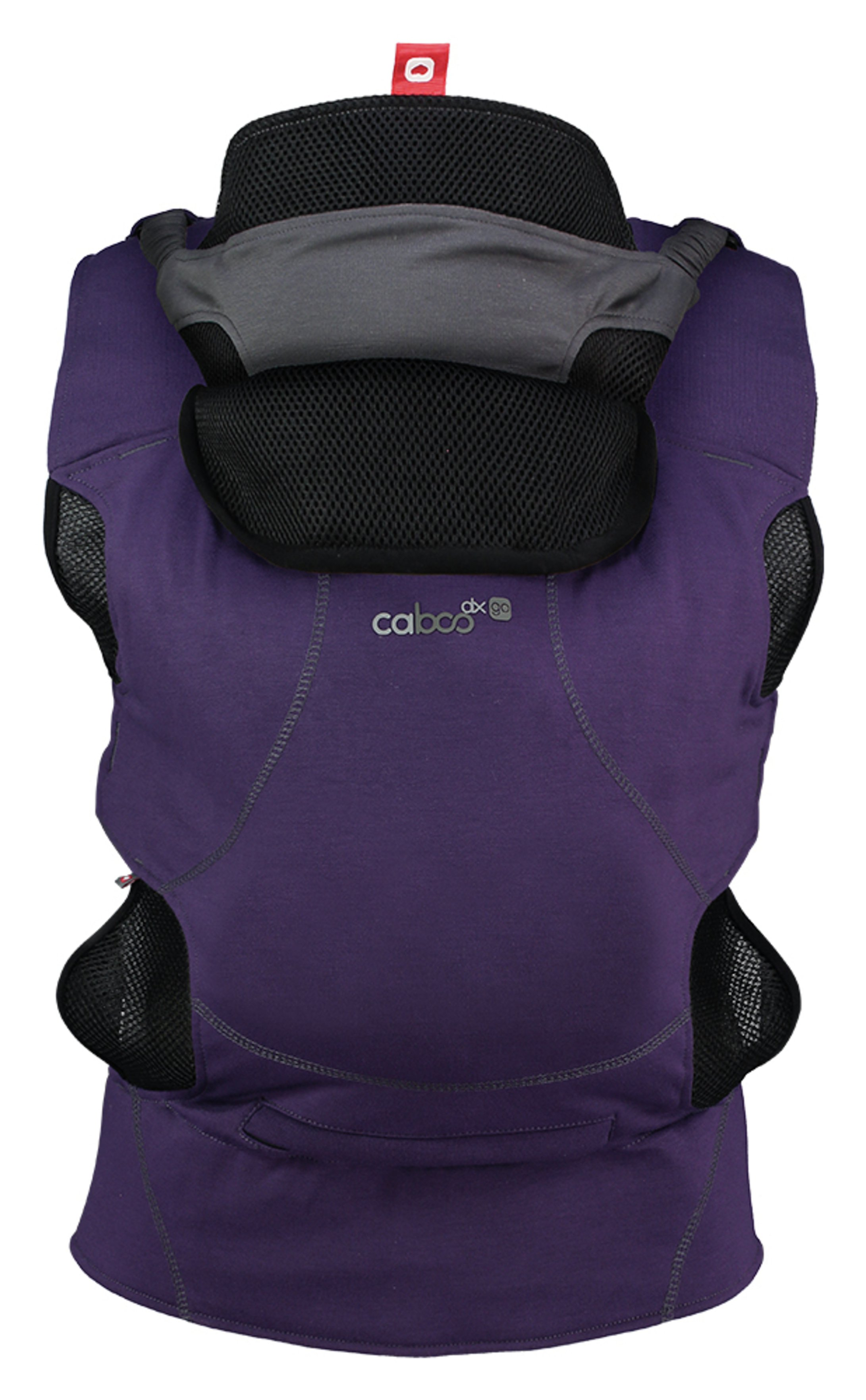Image of Caboo DXGO Baby Carrier - Plum