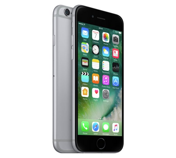 buy sim free apple iphone 6 32gb mobile phone space grey at your online shop for. Black Bedroom Furniture Sets. Home Design Ideas