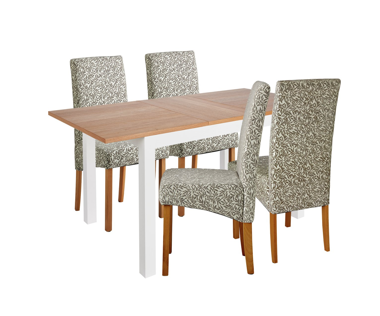 Collection Clifton Large Extendable Table amp 4 Chairs Grey : 7438527RZ001A from currentoffers.co.uk size 1531 x 1274 jpeg 215kB
