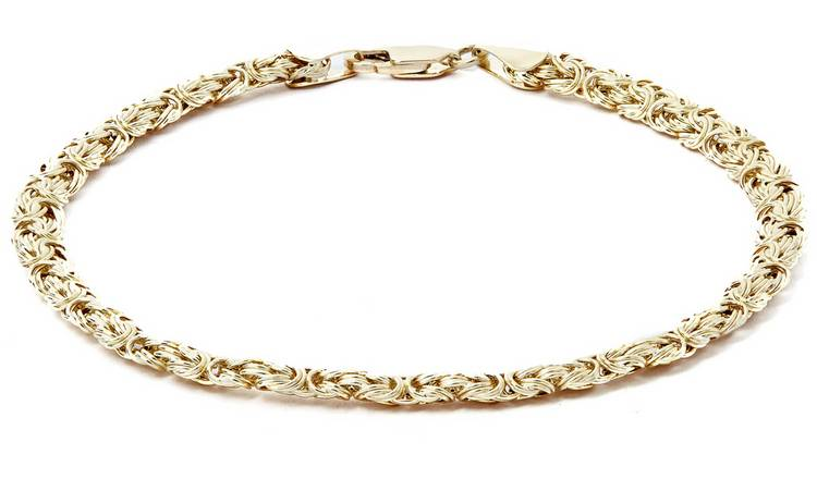 Revere 9ct Yellow Gold Fancy Chain Bracelet