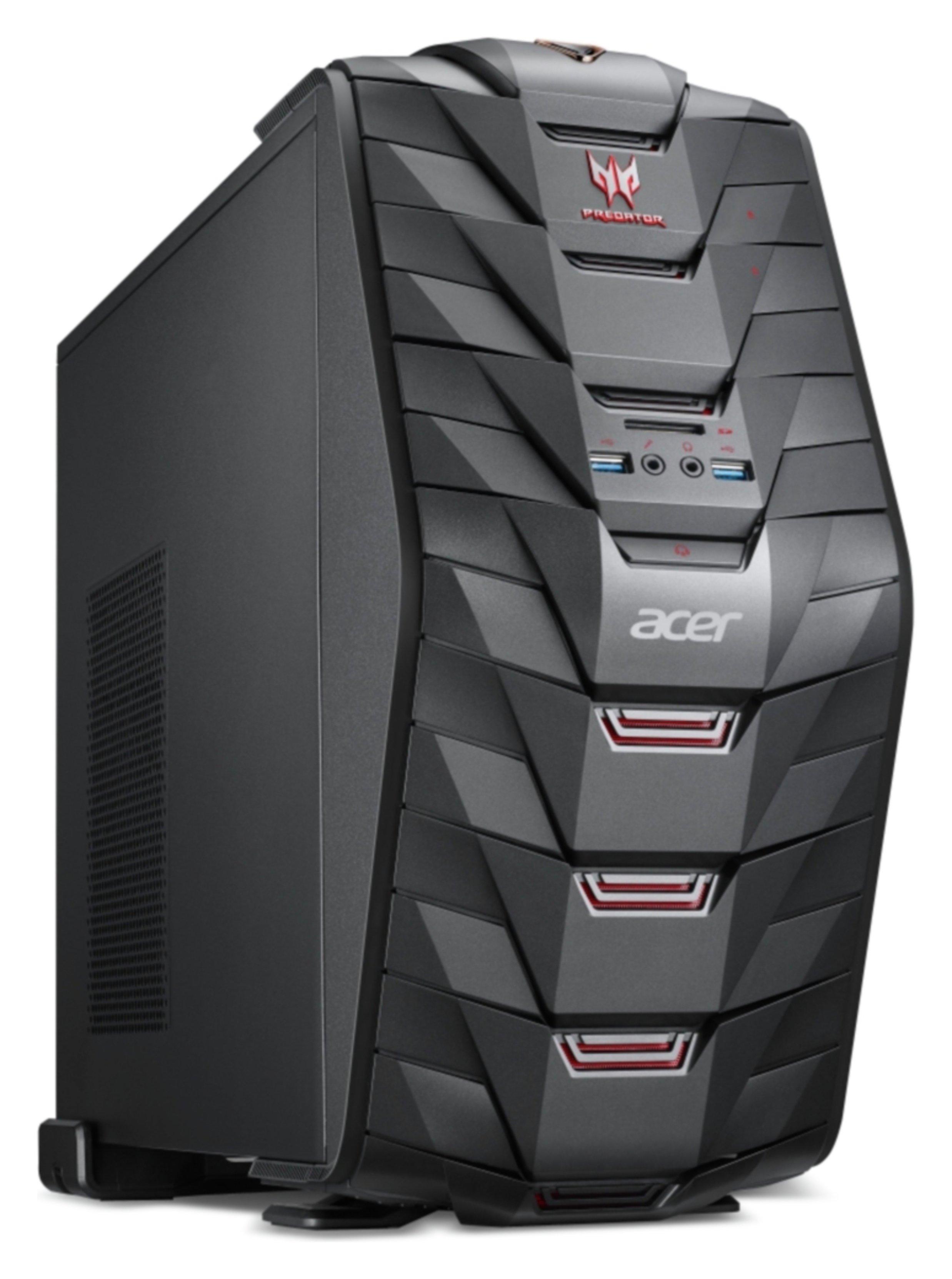Image of Acer Predator i5 8GB 1TB 128GB GTX1060 Gaming PC - Black