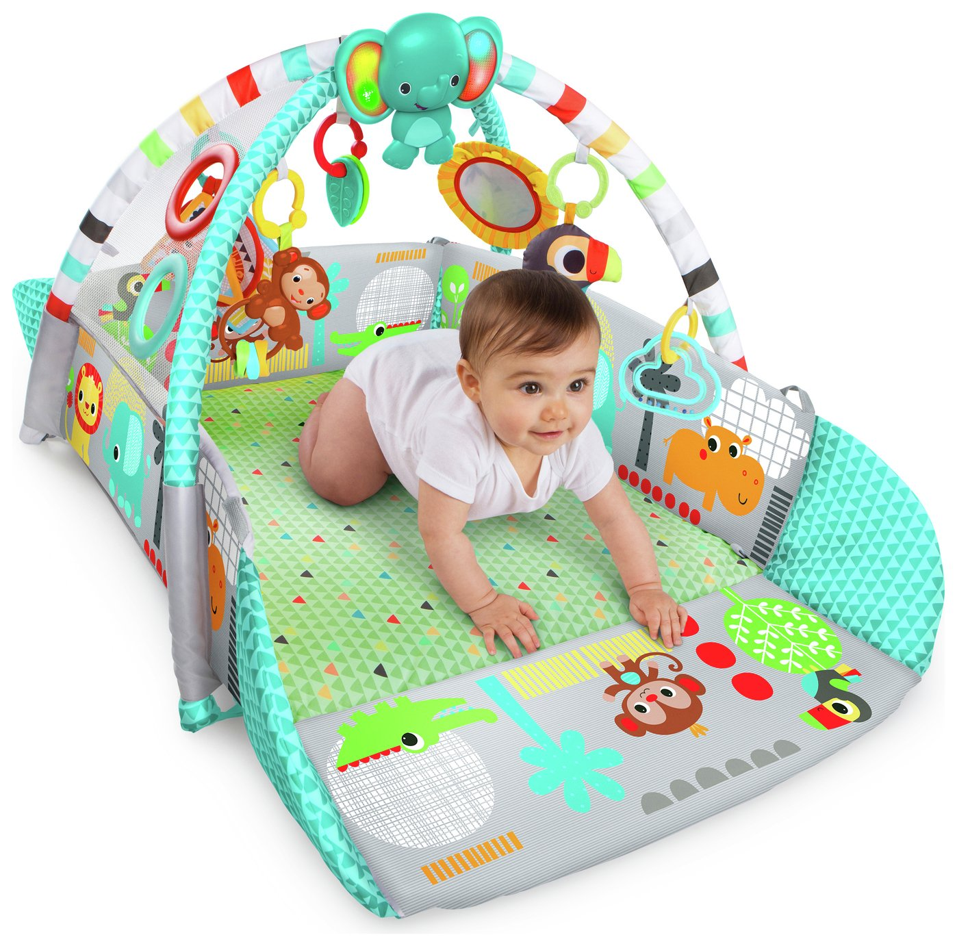 Image of Bright Starts 5-in-1 Your Way Ball Play Activity Gym