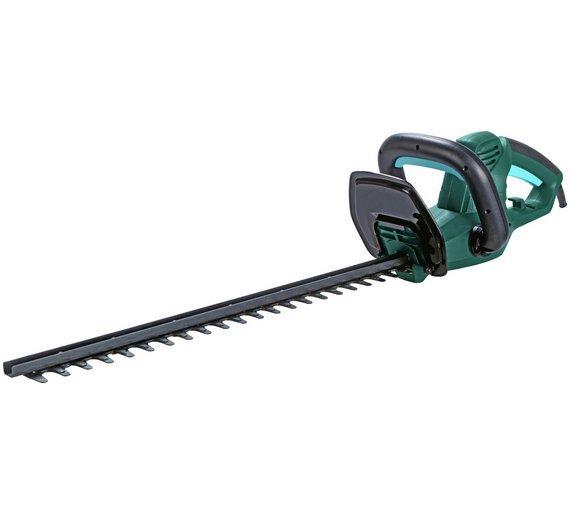 qualcast corded hedge trimmer 500w. Black Bedroom Furniture Sets. Home Design Ideas
