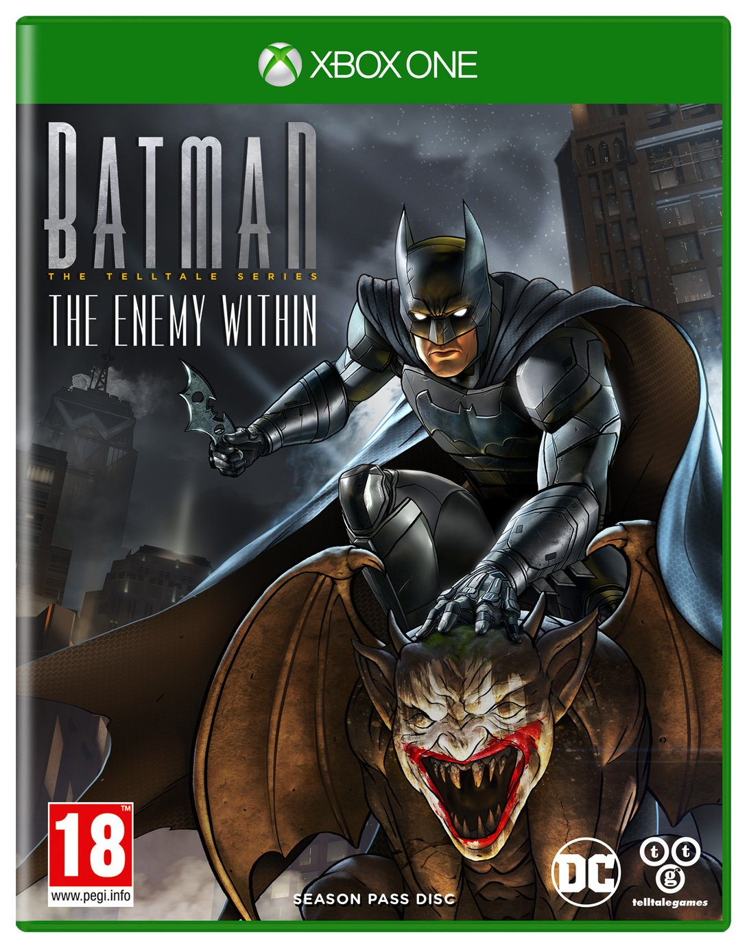 Image of Batman: The Enemy Within Telltale Series Xbox One Game