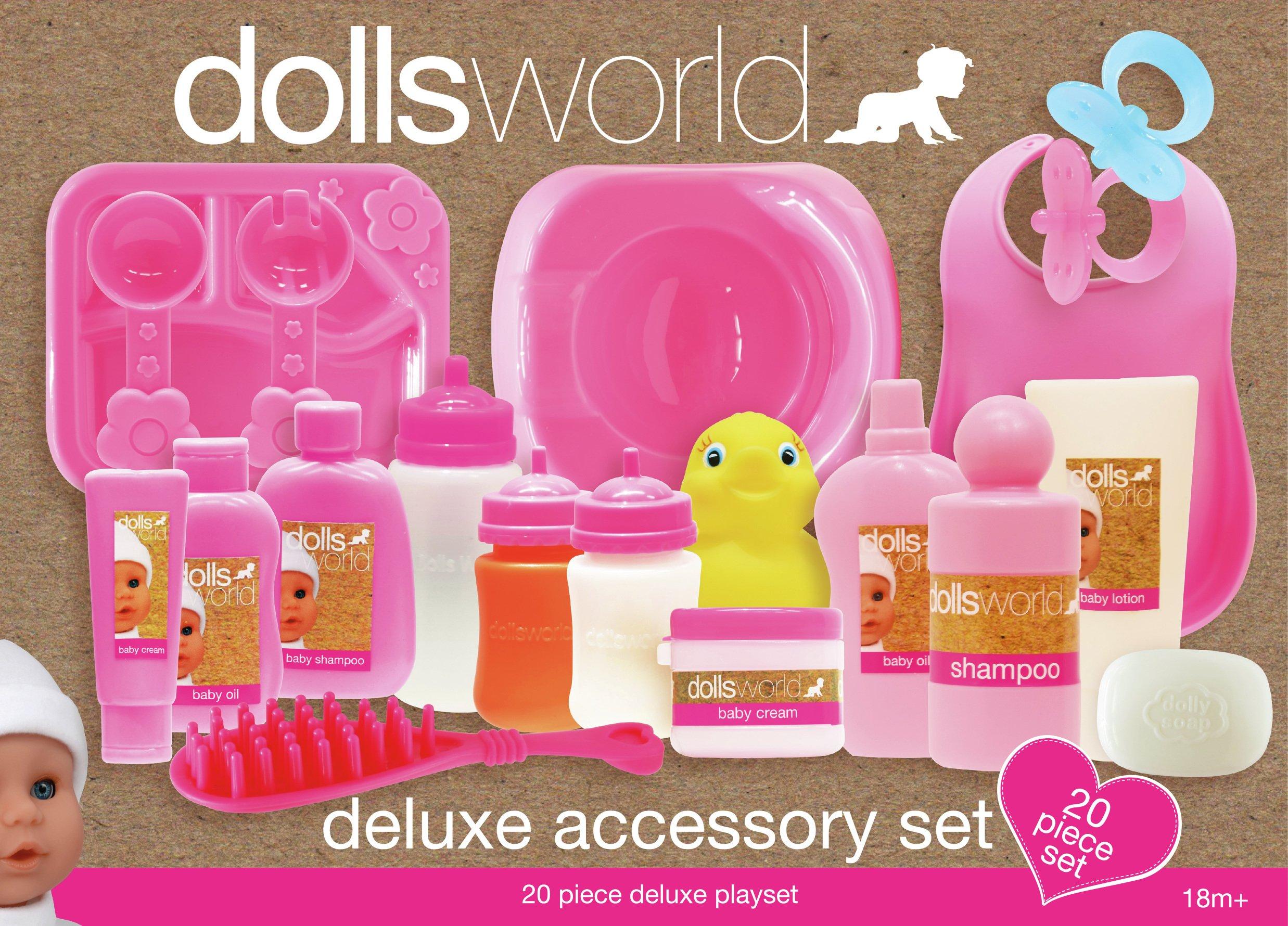 Image of Dollsworld Doll Deluxe Accessory Set.
