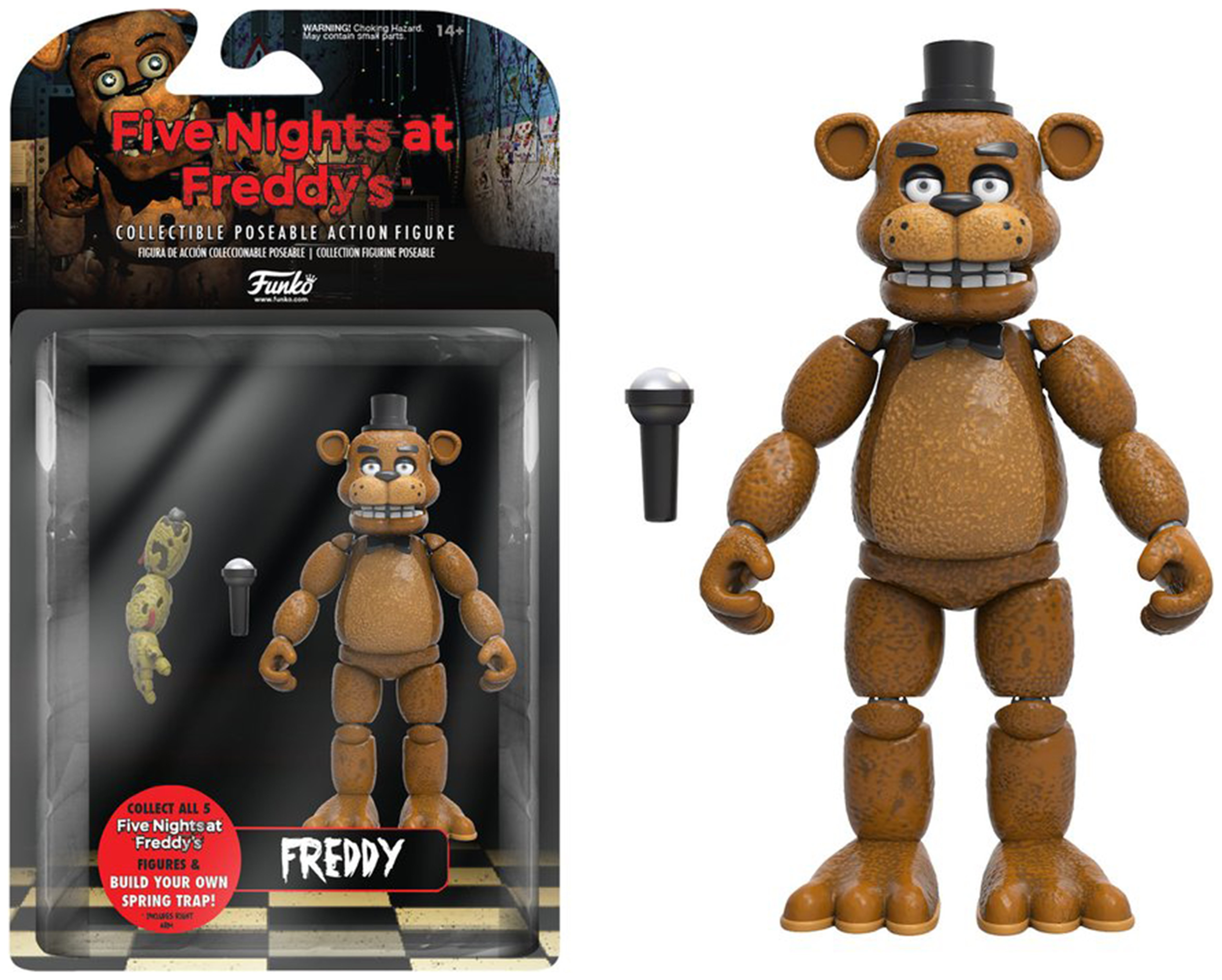 Image of Five Nights at Freddy's Freddy Action Figure - 5 Inch.
