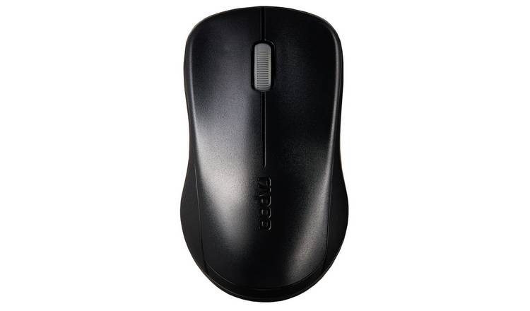 Rapoo 1620 Wireless Optical Mouse - Black