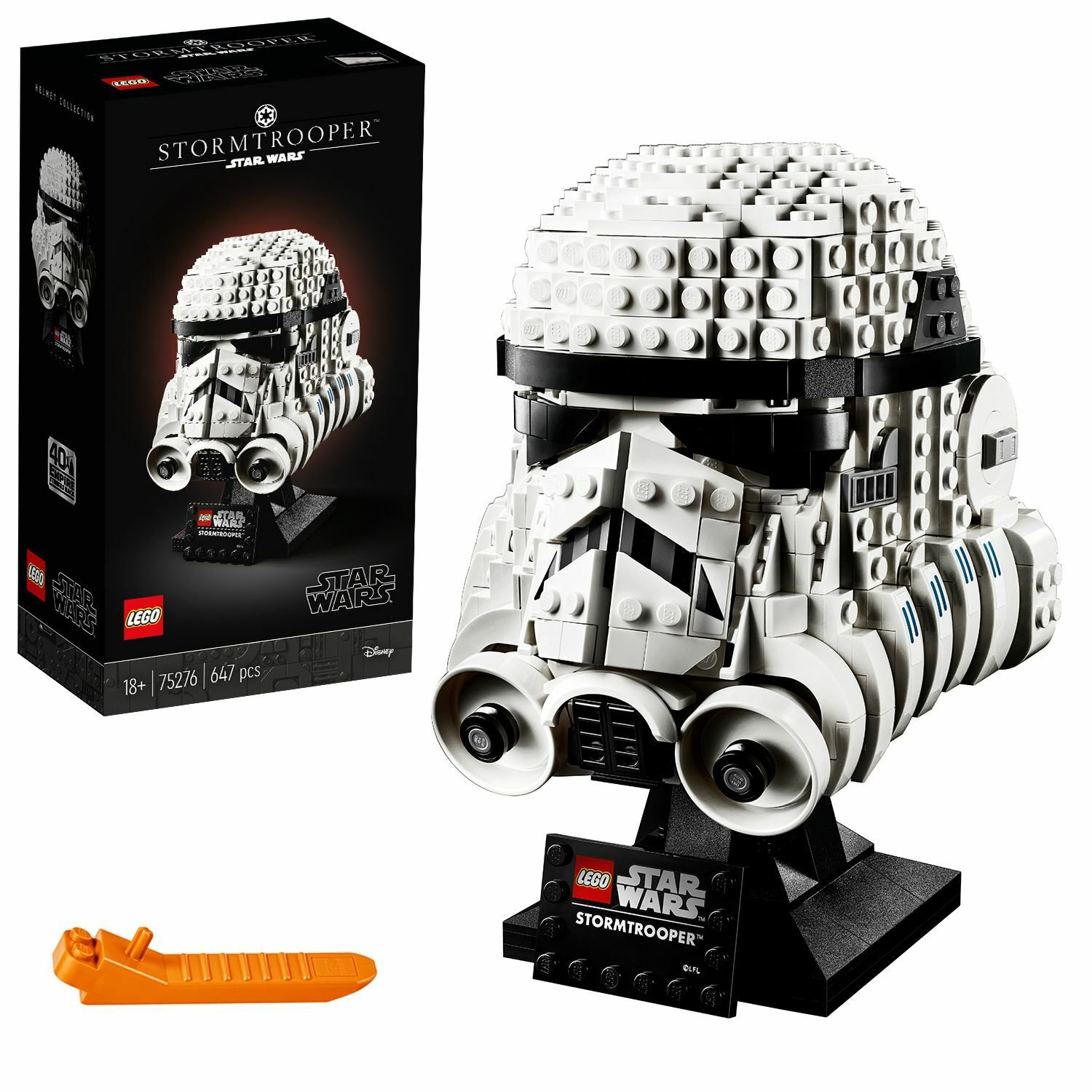 LEGO Star Wars Stormtrooper Helmet Display Set - 75276