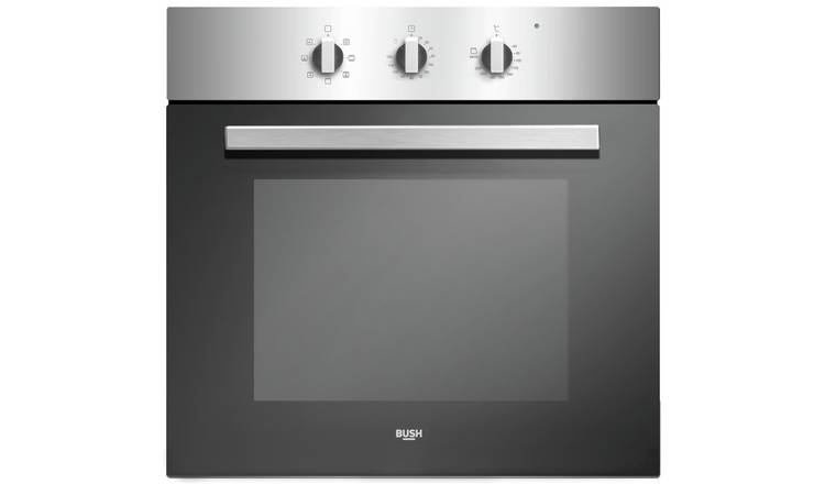 Bush BIBFOSA Built In Single Electric Oven - Stainless Steel