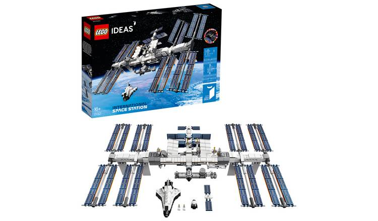 LEGO Ideas International Space Station Building Set - 21321