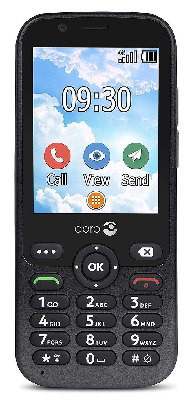 SIM Free Doro 7010 Mobile Phone - Graphite