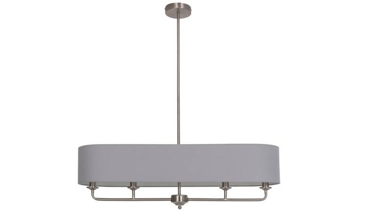 Argos Home Highland Lodge 4 Light Shaded Bar Ceiling Lamp