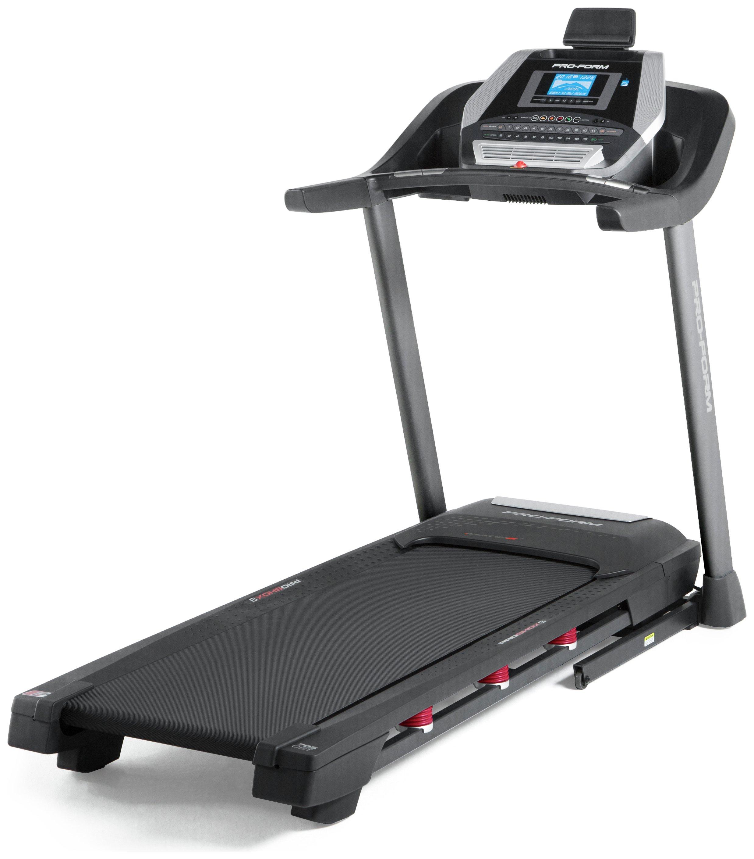 how to use proform treadmill