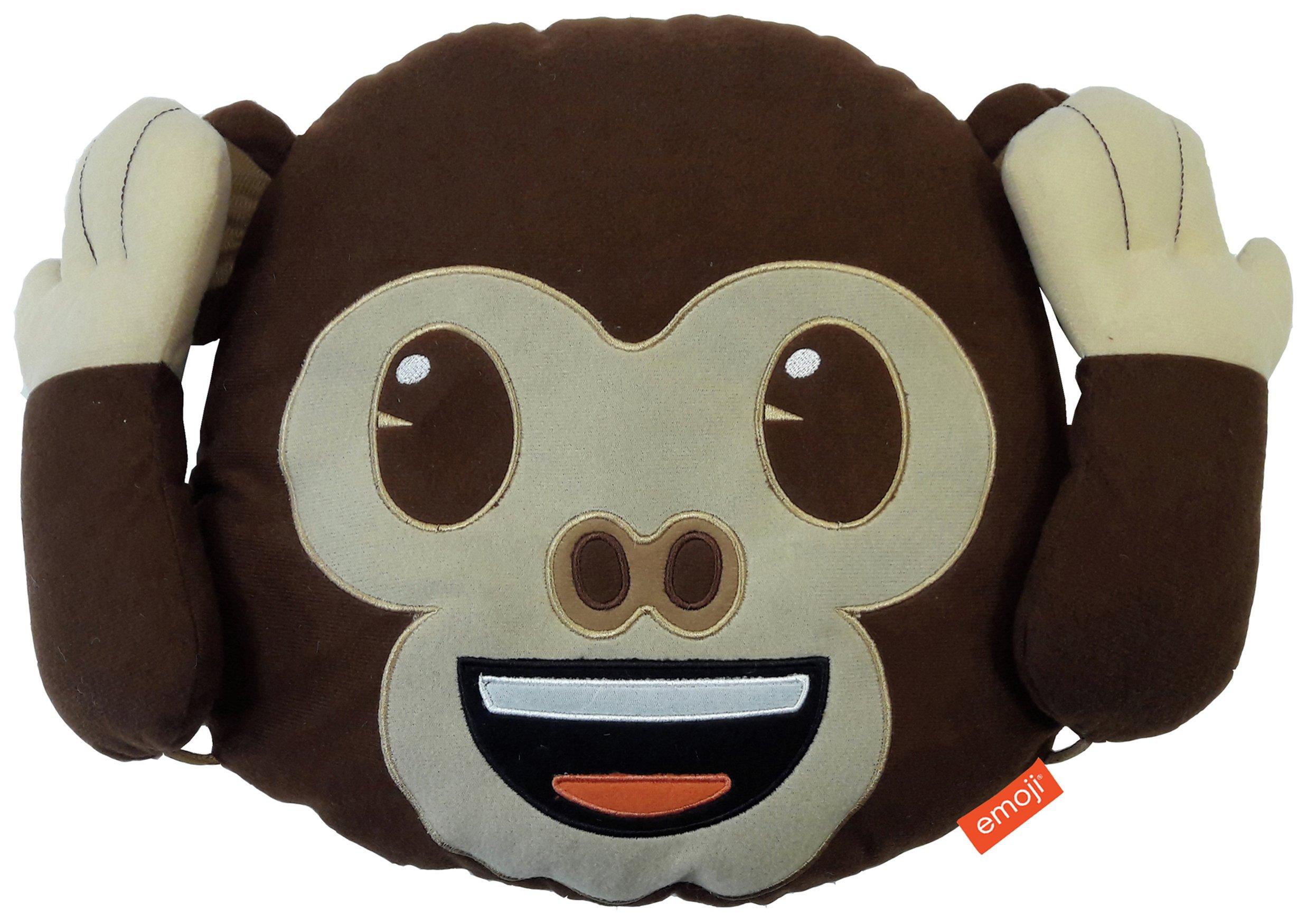 Image of Emoji Monkey Poseable Cushion