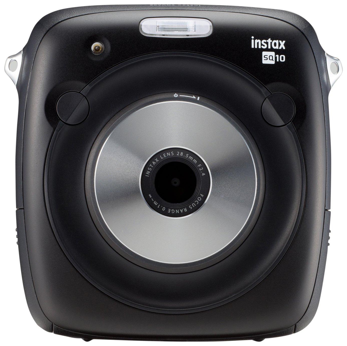 sale on instax square sq10 instant camera   black   instax
