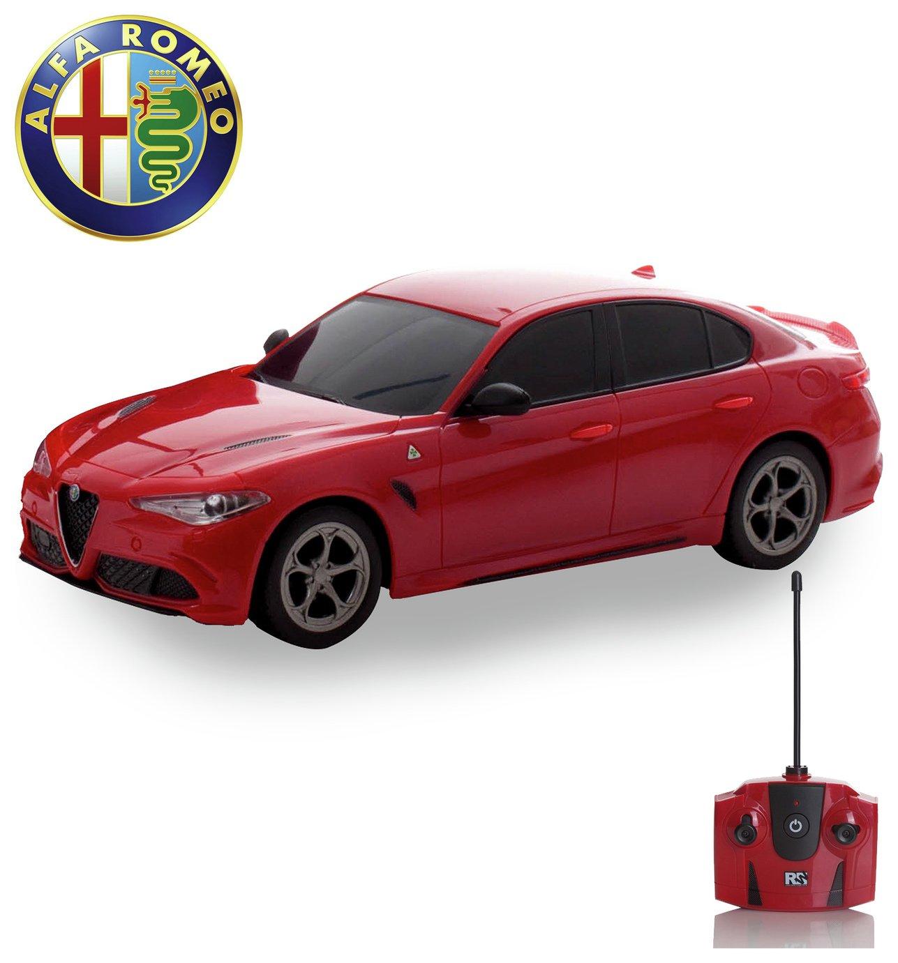 Image of Alfa Romeo Quadrafoglio 1:24 RC Car - Red