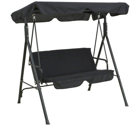 Buy Argos Home 2 Seater Metal Garden Swing Chair Hammocks And