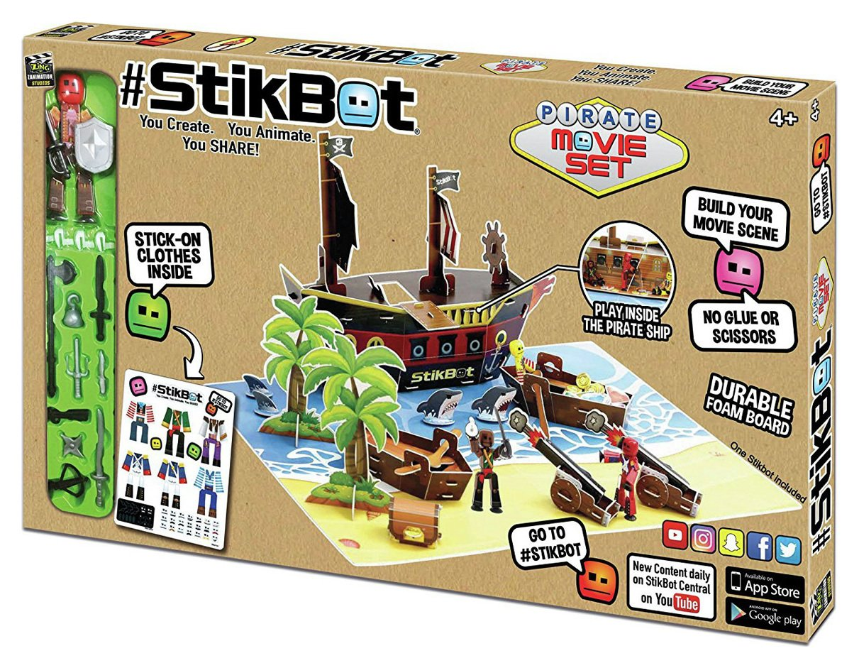 Image of StikBot Pirate Movie Set
