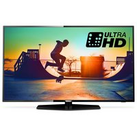 Philips 55PUS6162 55'' 4k UHD Black LED TV with HDR