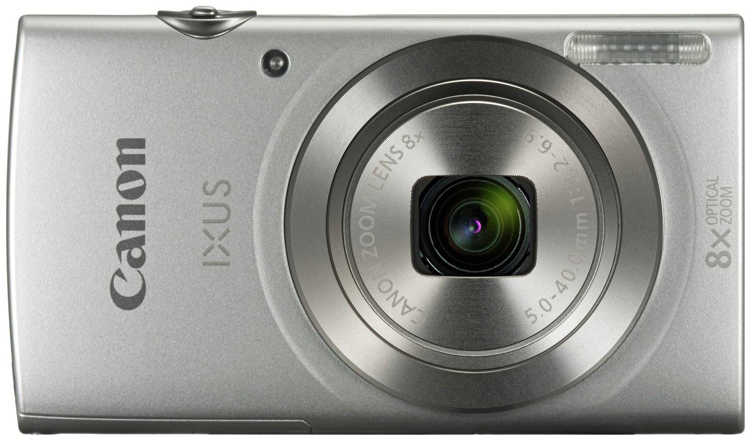 Canon IXUS 185 20MP 8x Zoom Compact Digital Camera Bundle