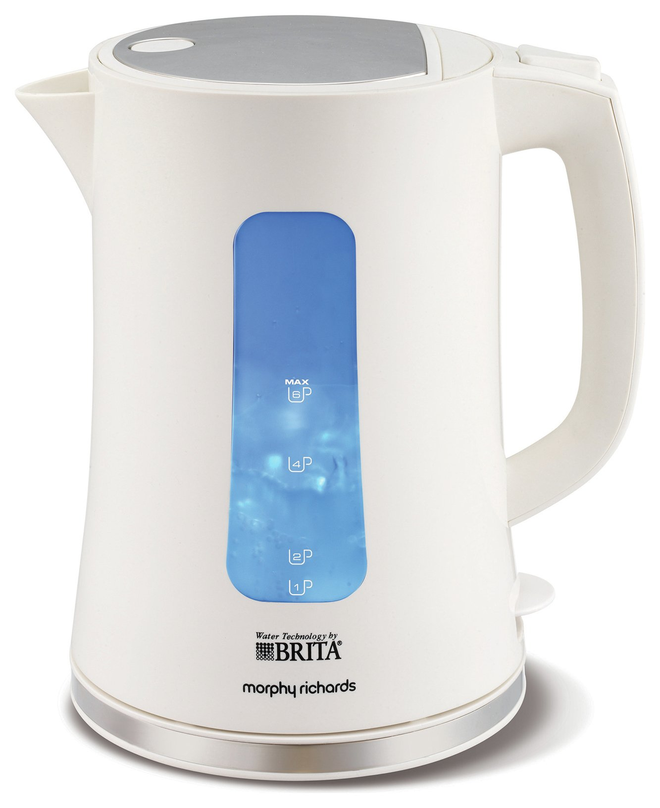 Morphy Richards Brita Accents Kettle - White