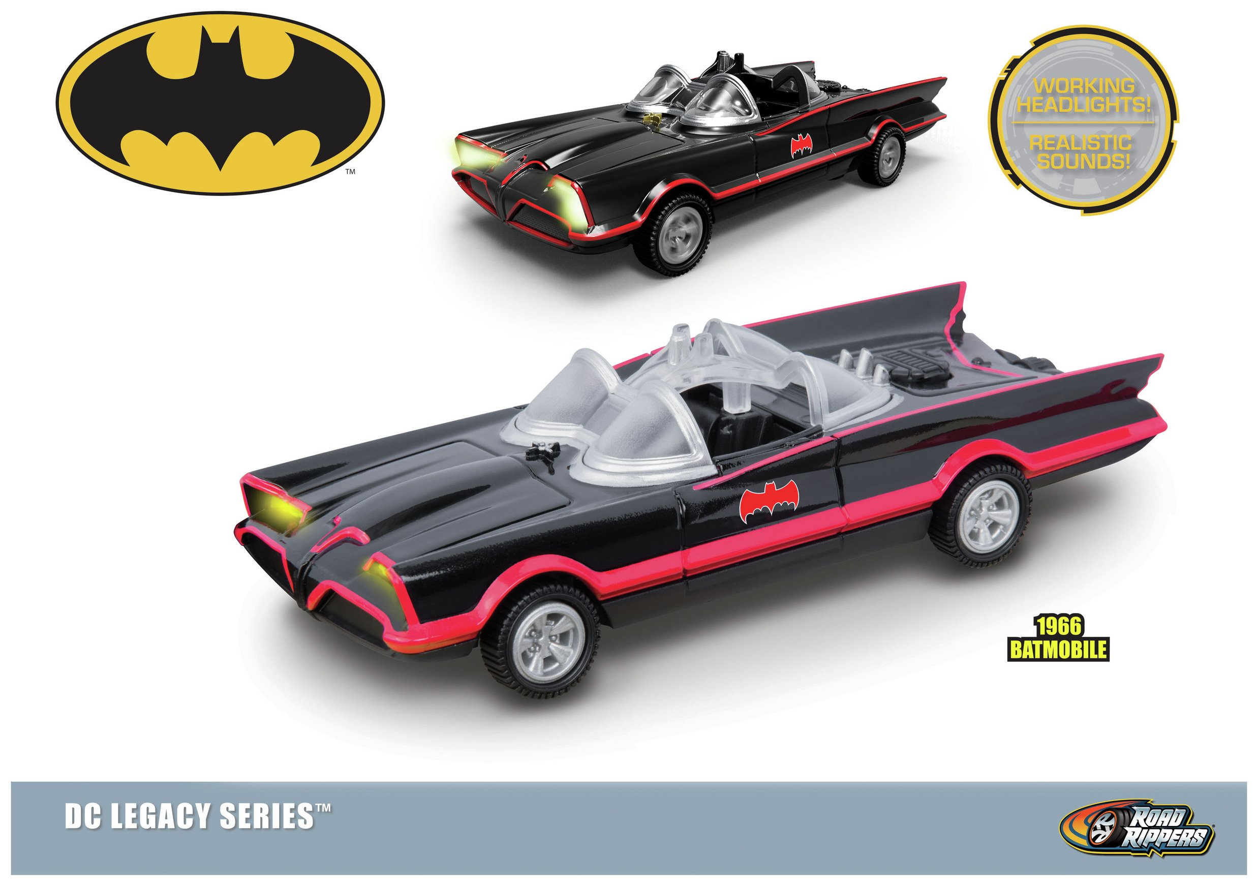 Image of DC Batmobile - Twin Pack.