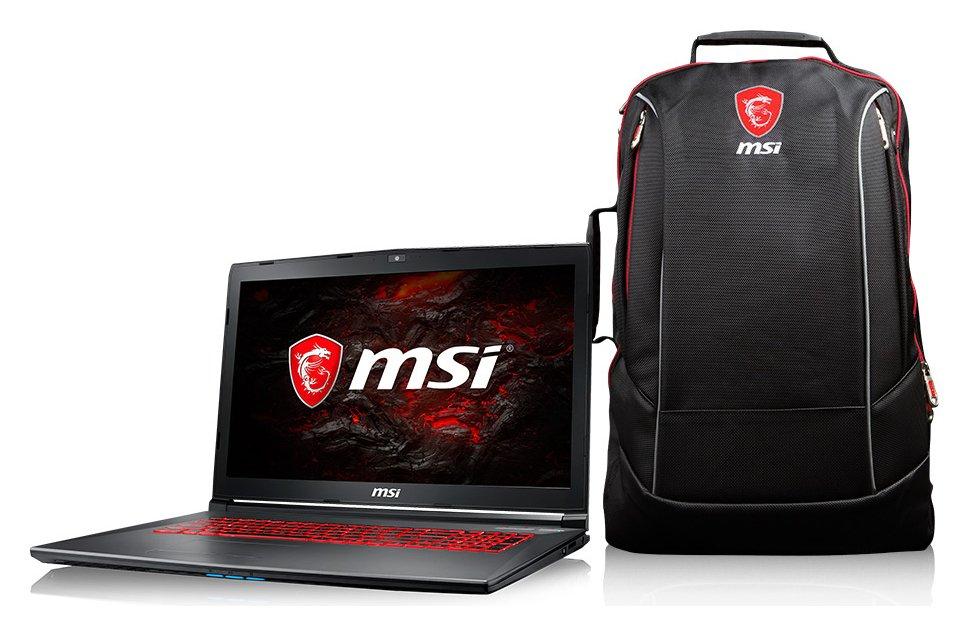 Msi MSI i7 17.3in 16GB 1TB GTX 1050TI Laptop and Bag
