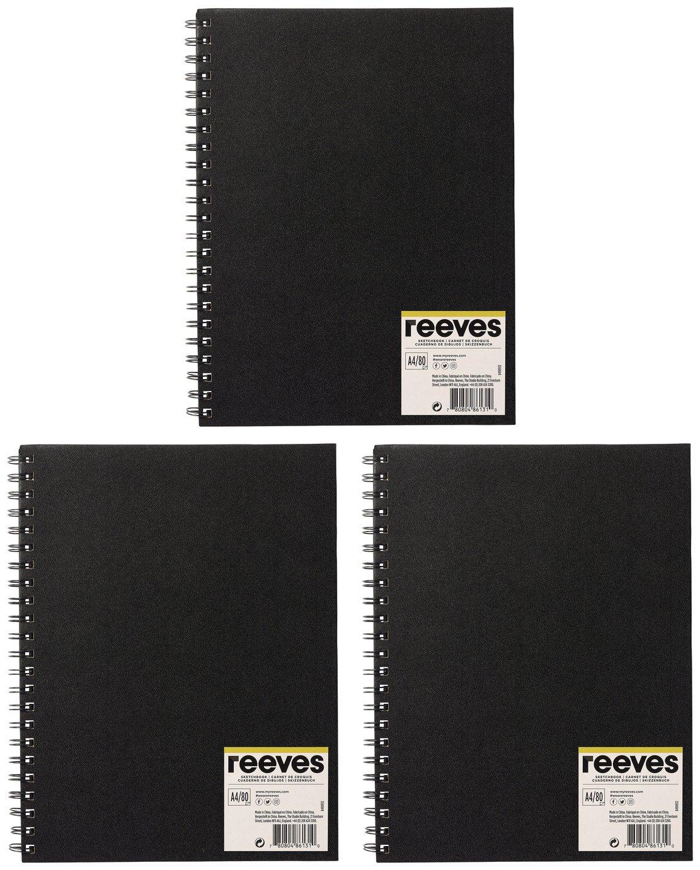 Reeves A4 Sketch Book - 3 Pack
