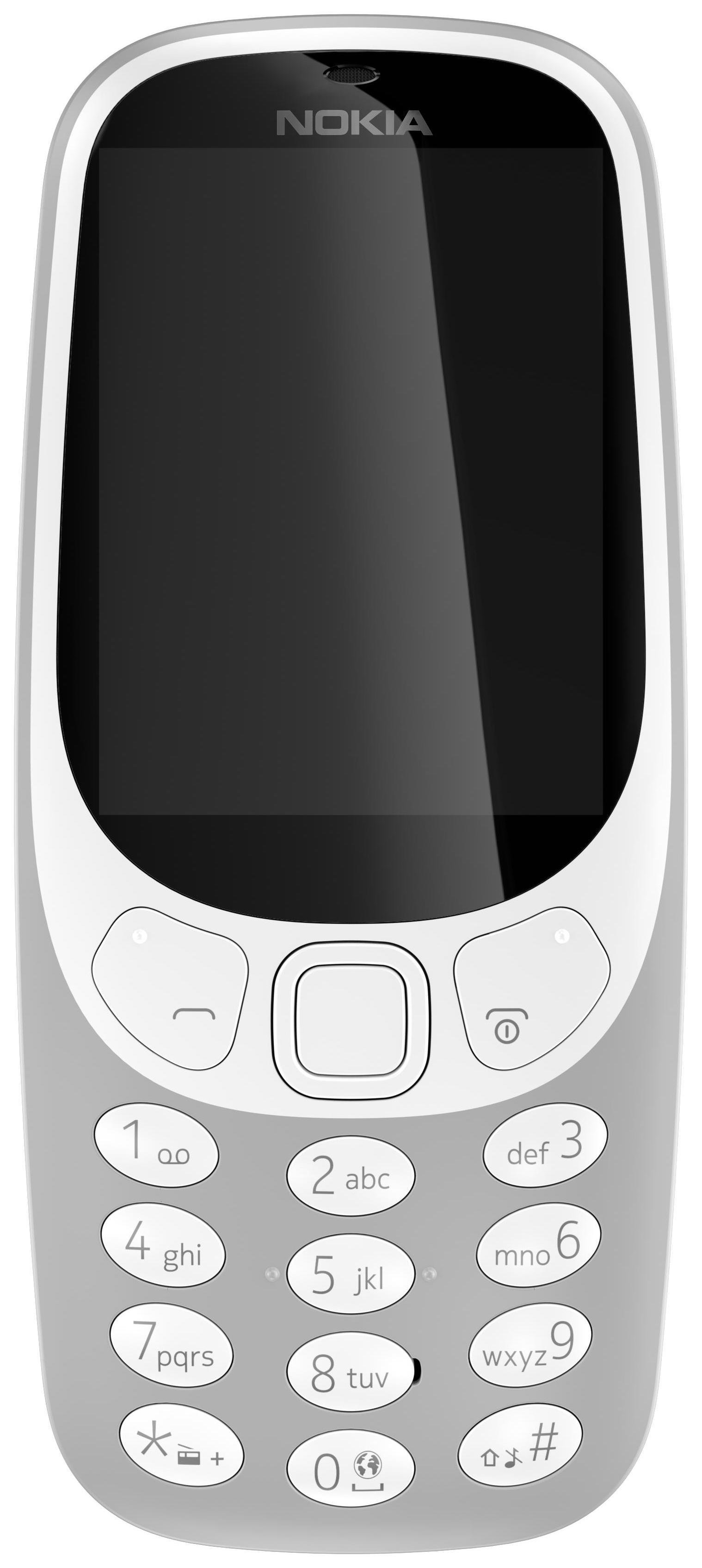 EE Nokia 3310 Mobile Phone - Grey