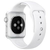Apple Watch 42mm SM & ML Sport Band- White