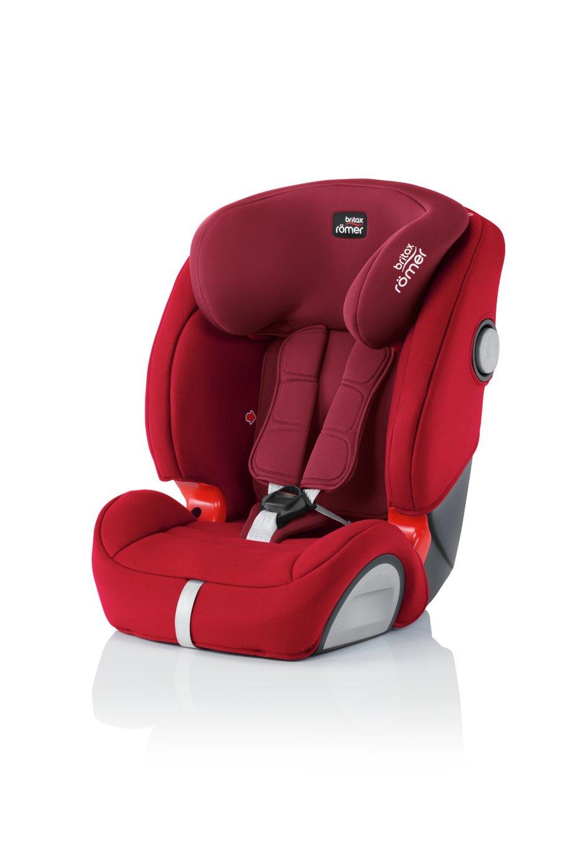 Britax Romer Evolva SL SICT Group 1/2/3 Car Seat - Flame Red
