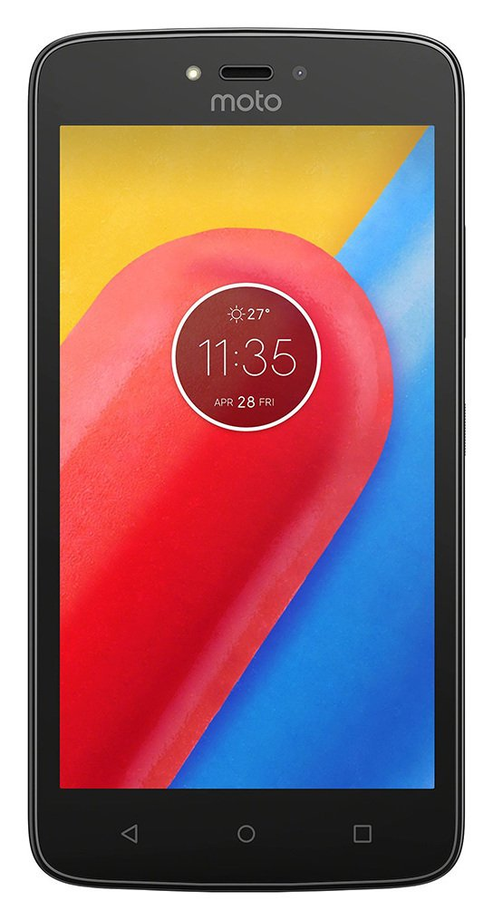 Sim Free Motorola Moto C Plus Mobile Phone - Red