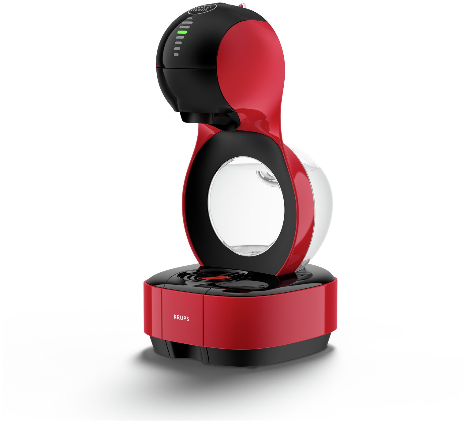 nescafe dolce gusto lumio by krups red coffee makers. Black Bedroom Furniture Sets. Home Design Ideas