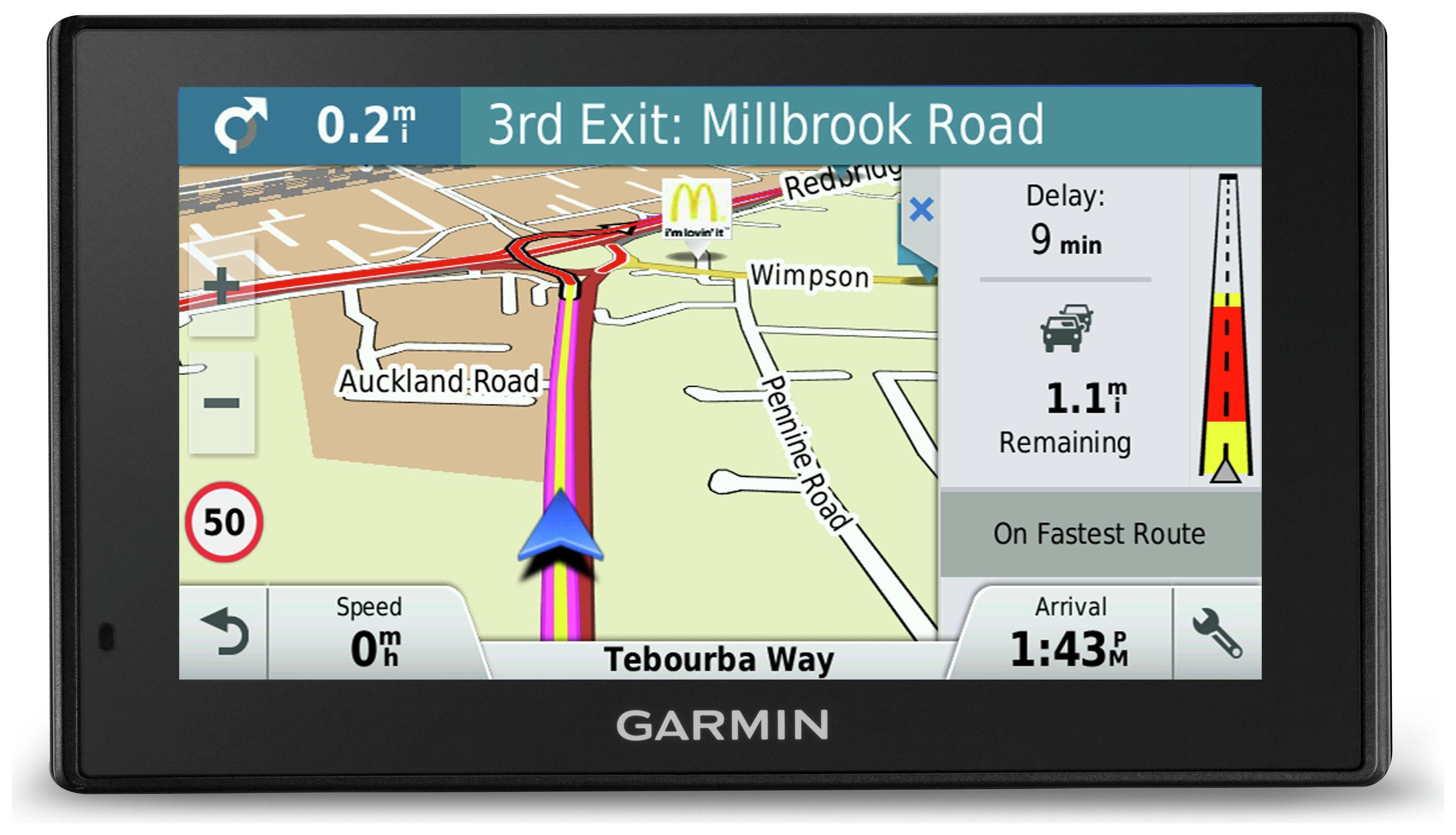 Image of Garmin DriveSmart 51LMT-D 5 Inch Full Europe Sat Nav