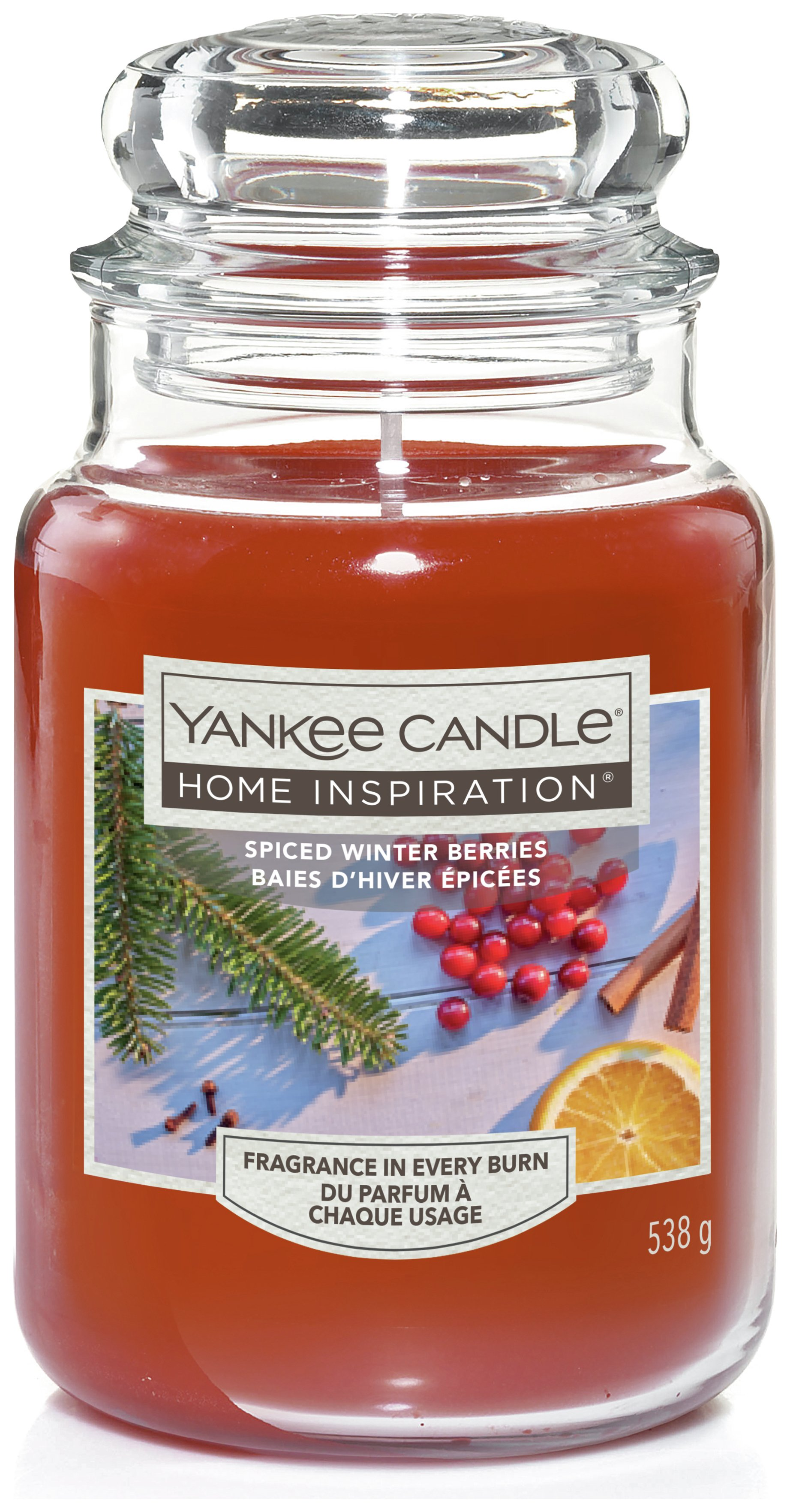 Image of Yankee Candle Large Jar - Spiced Winter Berries