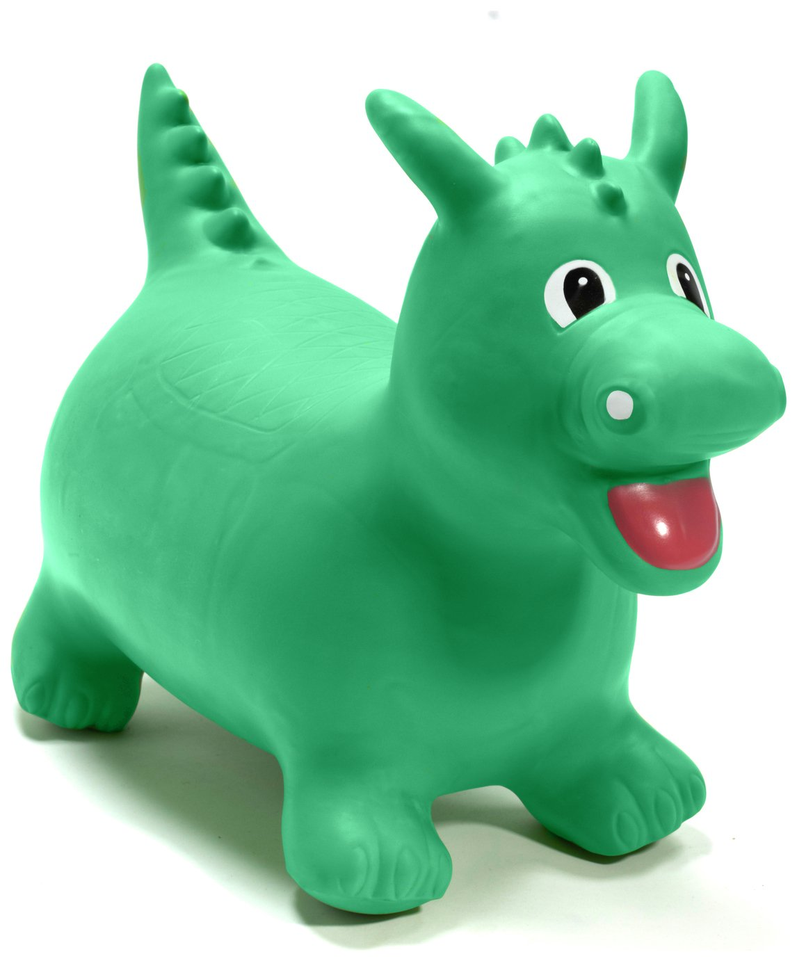 Image of HappyHopperz Inflatable Bouncer Dino - Green.