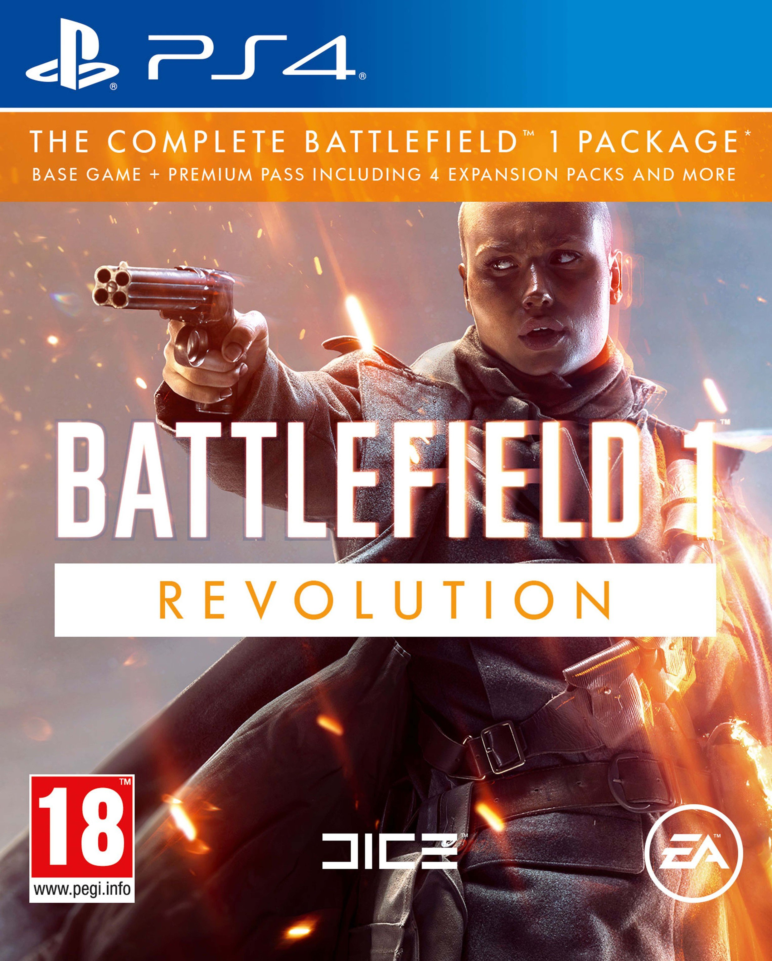 Image of Battlefield 1 Revolution PS4 Game